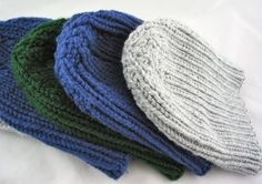 Handmade Mens Beanie Hat  Hand Knit  Custom by JazzitUpwithDesigns, $20.00