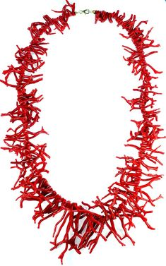 Vintage Red Coral Necklace - Vintage CollectionGenuine Italian Red Branch Coral NecklacePurchased on the Amalfi Coast in Italy Total Length Branch Necklace, Coral Jewelry, Fine Jewelry, International Jewelry, Cleanser And Toner, Gold Texture, Natural Red, Red Coral, Couture