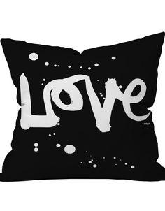 Graffiti Love Pillow