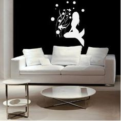 Mermaid Vinyl Wall Decal Sticker Graphic By LKS Trading Post