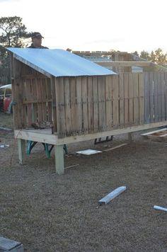 : Pallet Chicken Coop: Part Two