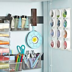 magnetic strips, perfect for rearranging your already organized items