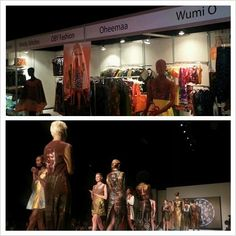 Display of #African Designers Showcase at @MiamiFashionWk. #AfricanFashion... Don't sleep! cc: @MiamiFashionWeek #MFW2013 #MiamiFashionWeek
