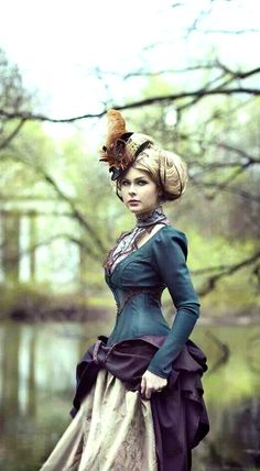 Love this look....very Steampunk....very Victorian...