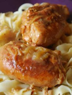 A delicious slow cooker chicken paprikash recipe based adapted from my mother's hungarian recipe