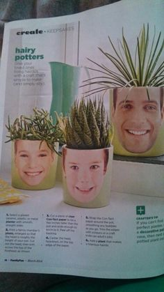 Fun idea from family fun magazine!