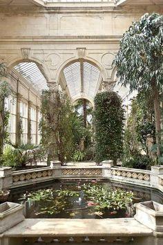 atrium.  for the Tudor