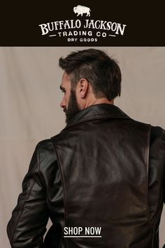 This vintage style brown leather jacket gives any outfit a classic rugged aesthetic. Keep it classy and casual — the more you wear this flight or biker jacket, the better it looks and feels. Great gift for men! Leather Flight Jacket, Leather Jackets, Vintage Style, Vintage Fashion, Casual Professional, Great Gifts For Men, Classic Man, Cow Leather, Feels
