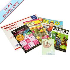 Book Bonanza Flat Camp Pack #campcarepackage