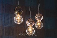 Apollo Ceiling Pendant Lamp Combination of Ten by Cattelan Italia
