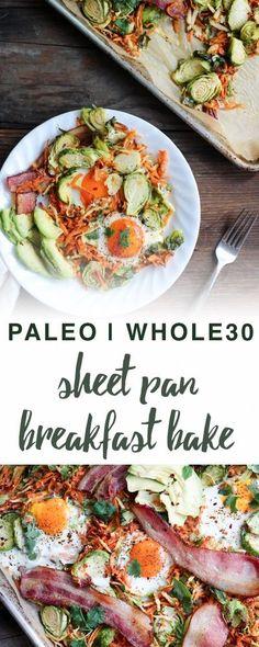 Paleo sheet pan breakfast bake   Empowered Sustenance