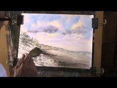 Sand Dunes in Watercolour No 2 - YouTube