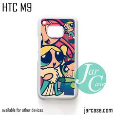 The Powerpuff Girls Art Phone Case for HTC One M9 case and other HTC Devices