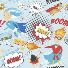 Superheroes - Wall Mural & Photo Wallpaper - Photowall