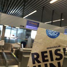 REISHUNGER Tüte am Terminal 1 des Frankfurter Flughafens #reishunger #reisaufreisen #frankfurt #airport