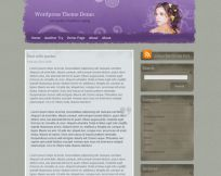 Grunge Lady Wp Theme