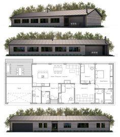 Modern Farmhouse Plan, Home Plan