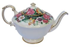 Paragon Floral Teapot from England