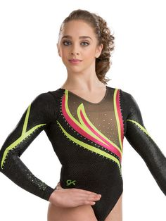 Engaging Competition Leotard from GK Elite