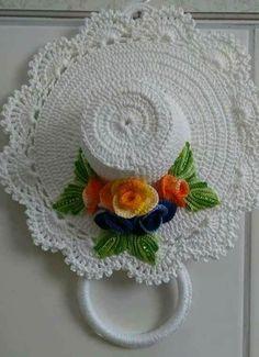 Idéias lindas e criativas feitas em crochê para você si inspirar