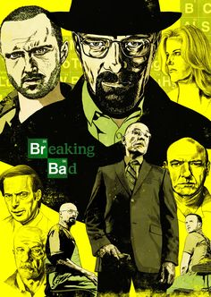 Custom Breaking Bad TV Show Modern Poster Fashion Stylish Home Decor Retro Bedroom High Quality Wall Sticker Breaking Bad 2, Breaking Bad Seasons, Heisenberg, Comic Book Characters, Fictional Characters, Graphic Artwork, New Poster, Expo, Illustrations And Posters