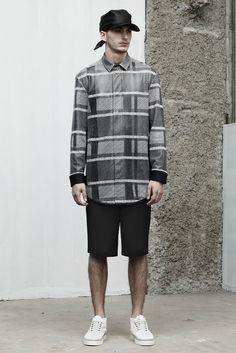 Interpretation garment. Alexander Wang MEN | Paris | Verão 2014 RTW
