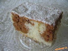*šťavnatý a osviežujúci koláčik* Suroviny boli v pôvodnom recepte rozrátané na lyžice a hrnčeky, mal...