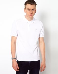 Fred Perry   Fred Perry Slim Fit Plain Polo at ASOS