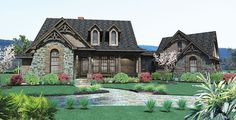 Ranch House Plan with 1698 Square Feet and 3 Bedrooms from Dream Home Source   House Plan Code DHSW69292