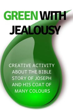 Object lesson - Joseph's coat: 'Green with jealousy' - FREE Bible Object Lessons, Bible Lessons For Kids, Youth Group Lessons, Science Lessons, Bible Activities, Joseph Activities, Kids Church, Church Ideas, Kids Sunday School Lessons