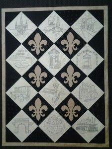 Crescent City Charm - New Orleans design