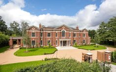 Kings Chase – A 12,000 Square Foot Newly Built Brick Mansion In Surrey, England | Homes of the Rich