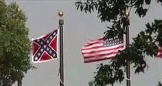 American Flag and the Confederate Battle Flag! KK
