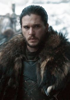 Kit Harington Jon Snow season 7 top of gambeson/tunic peeking out. Seems to be the same as the original costume.