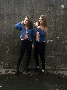 #friends #girls #jeans