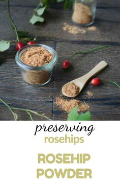 This contains: rosehip powder,