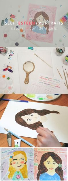 EMPOWER YOUR GIRL - Help build your girl's confidence and self esteem with this fun project! We <3 this idea.