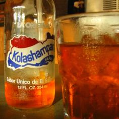 I'm craving some! Kolashampan - El Salvador Thanks Florence, when I first went to El Salvador, I thought it was Champagne...hmm, is that like KinderBeer?