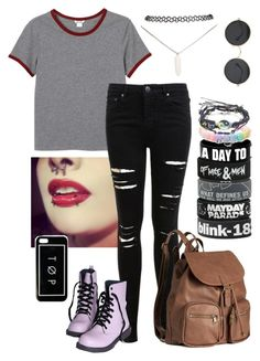 """Untitled #58"" by fangirl-trash ❤ liked on Polyvore featuring Monki, Miss Selfridge, H&M and Wet Seal"