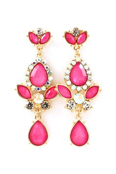 Crystal Fia Earrings | Awesome Selection of Chic Fashion Jewelry | Emma Stine Limited