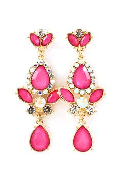 Crystal Fia Earrings