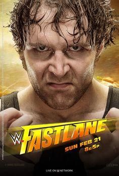 Dean Ambrose on the cover of FastLane Wwe Ppv, Wwe Dean Ambrose, Nxt Takeover, Survivor Series, Lucha Underground, Weak In The Knees, Wwe Wallpapers, Wwe Wrestlers, Wwe Divas