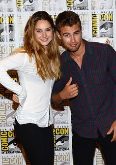 Shailene Woodley and Theo James @Desiree Nechacov' Saatzer-Badgett @Dana Curtis Saatzer @Dawn Cameron-Hollyer Saatzer