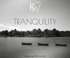 Peaceful. Serene. Tranquil - all wonderful things in our book! RenewingWellness.Net