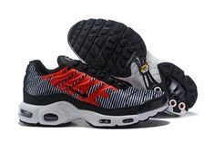 buy popular 7a620 8f6f9 Exquisite Nike Air Max Plus TN Striped Black White Pure Platinum AT0040 001 Sneakers  Men s Running Shoes  AT0040-001