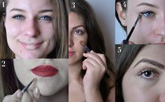 "Concealer Tutorial by ""Les Deux Magazine"" Concealer, Septum Ring, Hacks, Magazine, Jewelry, Fashion, Jewlery, Moda, Jewels"