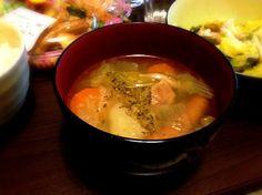 自宅料理 - 3件のもぐもぐ - ポトフ by hironoru