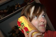 ...and I just found my new office phone. Pizza Phone.. $36.00, via Etsy.