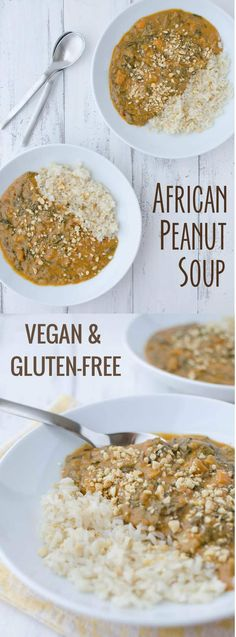 African Peanut Soup! If you haven't had peanut soup before, you must try this one! Vegan, gluten-free and healthy! Serve on it's own or with brown rice. | #vegan #healthy #glutenfree #vegetarian www.delishknowledge.com