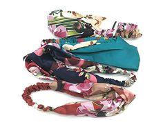 4 Pack Bandeaux Pour Femmes, Yofa Vintage Elastique Fleur Imprimé Tête Wrap  Bandeau Pour Filles Twisted Mode Accessoires De Cheveux 48363765150